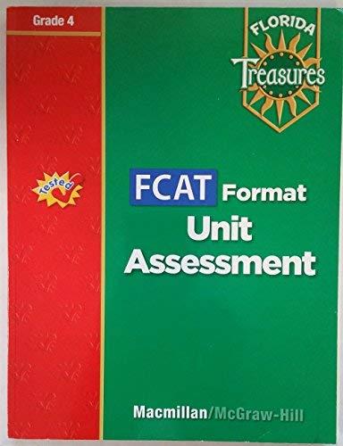 9780021990665: FCAT Format Unit Assessment Grade 4 (Florida Treasures)