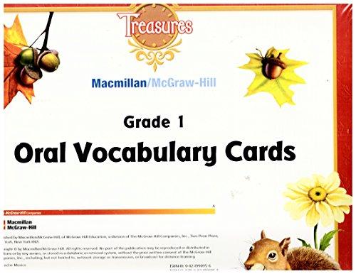 9780021990955: Grade 1 Oral Vocabulary Cards (Treasures)