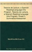 9780021999132: Tesoros de lectura, A Spanish Reading/Language Arts Program, Grade 3, Summative Assessment Handbook