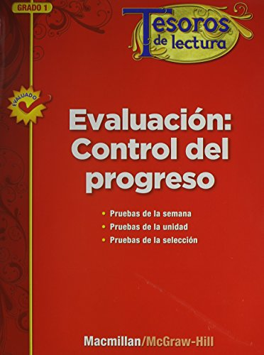 Evaluacion: Control del Progreso, Grado 1, Progress Monitoring Assessment (Tesoros de lectura) (...