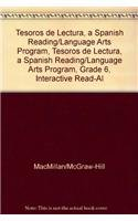 9780021999606: Tesoros de lectura, A Spanish Reading/Language Arts Program, Grade 6, Interactive Read-Aloud Anthology