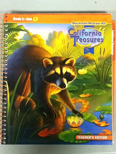 9780021999736: California Treasures: Grade 3 Unit 1 Teacher's Edition