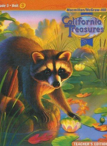 9780021999750: California Treasures Grade 3 Unit 3 Teacher's Edition