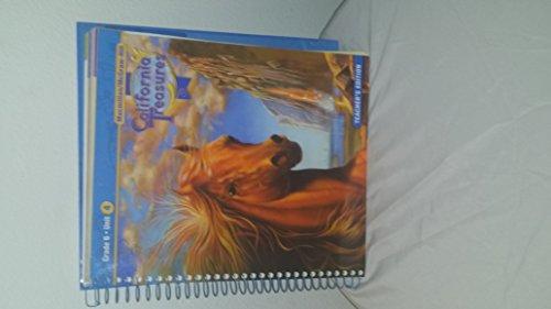 9780021999941: California Treasures Grade 6 Unit 4 Teacher's Edition