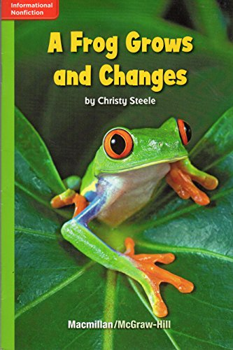 A Frog Grows and Changes (GR H;: Christy Steele
