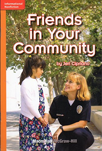 Friends in Your Community (Grade 1; GR: Jeri Cipriano