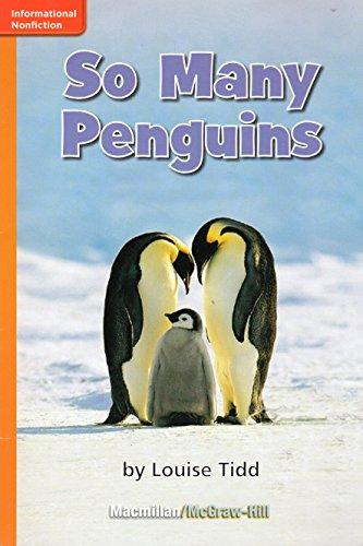 9780022001315: So Many Penguins (GR E; Benchmark 8; Lexile 310)