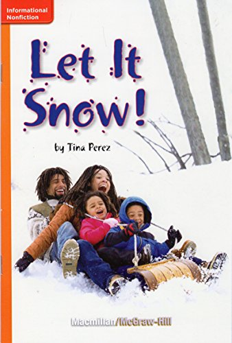 9780022001391: Let It Snow! (Grade 1; GR E; Benchmark 8; Lexile 360)