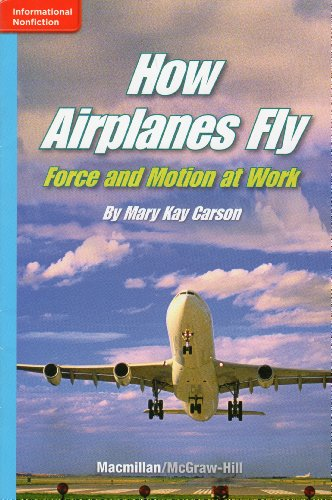 HOW AIRPLANES FLY, FORCE AND MOTION AT WORK (INFORMATIONAL NONFICTION): MARY KAY CARSON
