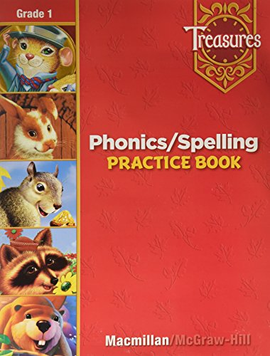 9780022008314: Phonics / Spelling Practice Book, Grade 1 (Treasures)