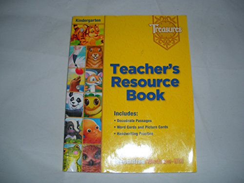 9780022008680: Treasures Teacher's Resource Book kindergarten