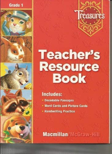 9780022008697: Treasures Teacher's Resource Book Grade 1