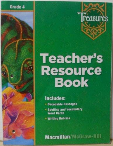 9780022008734: Treasures Teacher's Resource Book grade 4