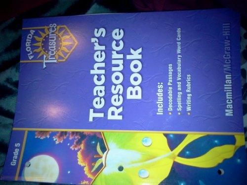 9780022008826: Teacher's Resource Book Grade 5 (Florida Treasures)