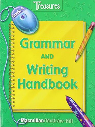 9780022010775: Treasures, Grade 4: Grammar and Writing Handbook