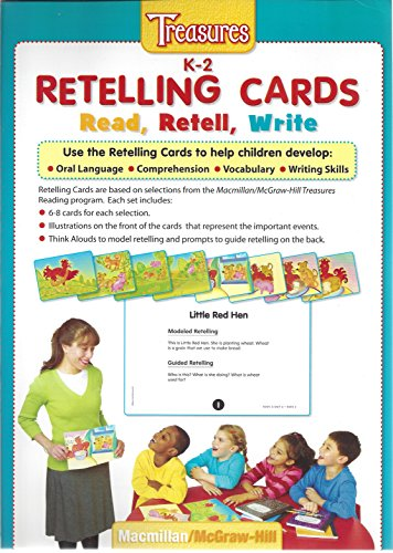 9780022014155: Retelling Cards - Treasures Macmillan/McGraw-Hill Grade 1
