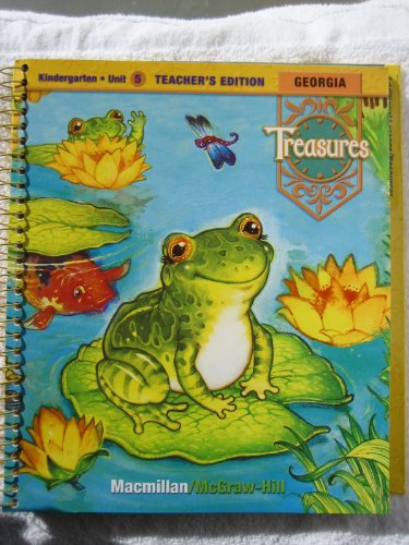 9780022015558: Georgia Treasures: A Reading/Language Arts Program (Kindergarten Unit 5: Animals) Teacher's Edition [2008]