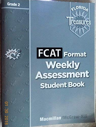 9780022016500: FCAT Format Weekly Assessment Student Book Grade 2