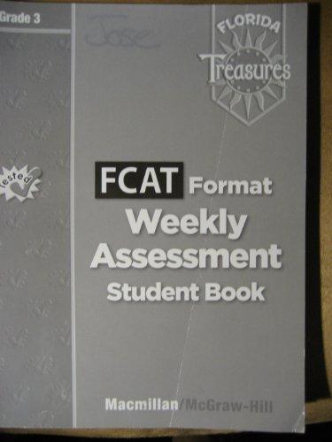 9780022016517: FCAT Format Weekly Assessment - Grade 3 (Florida Treasures)