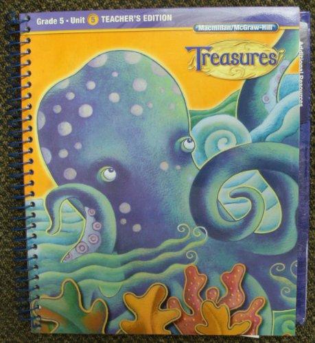 9780022016852: grade 5 unit 5 teacher's edition treasures