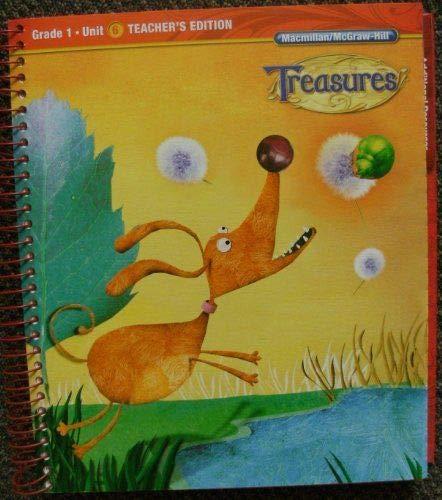 9780022017064: Grade 1: Teacher's Edition (Treasures, Unit 6)