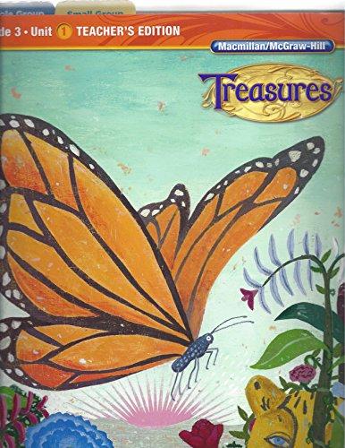 Macmillan/McGraw Hill Treasures Grade 3 Unit 1 Teacher's Edition (A Reading/Language...