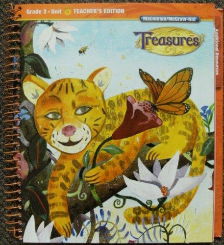 Grade 3: Teacher's Edition (Treasures, Unit 5)