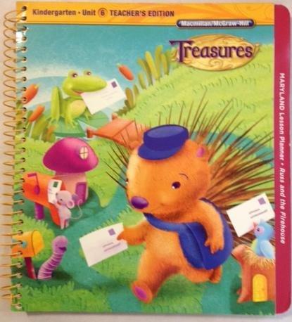 9780022017446: Kindergarten: Teacher's Edition (Treasures, Unit 6)