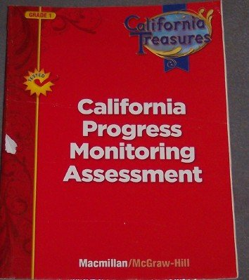 9780022018146: California Progress Monitoring Assessment (California Treasures Grade 1)