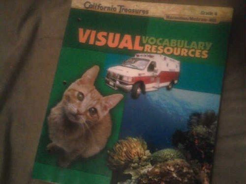 9780022018443: California Visual Vocabulary Resources, Grade 4 (Califonia Treasures)