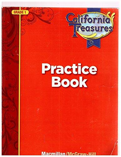 9780022018528: California Treasures Practice Book Grade 1