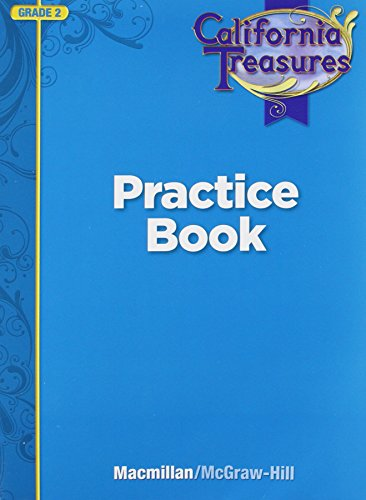 9780022018559: California Treasures Practice Book Grade 2
