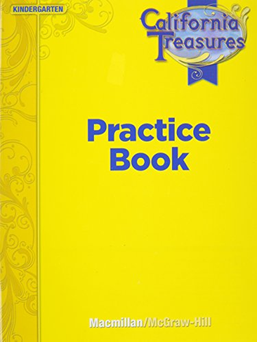 9780022018733: Treasures Reading Practice Book Grade K