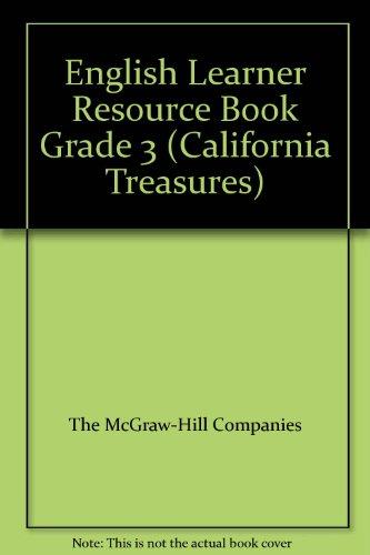 9780022019457: English Learner Resource Book Grade 3 (California Treasures)
