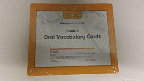 9780022020309: Treasures Oral Vocabulary Cards Grade 3