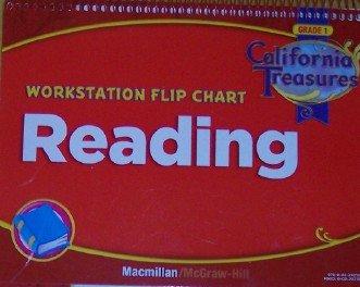 9780022021320: Reading: Workstation Flip Chart Grade 1 (California Treasures)