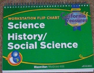 9780022021443: Workstation Flip Chart: Science History/Social Studies (California Treasures, Grade 4)