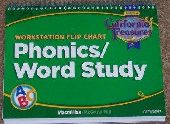 9780022021450: Workstation Flip Chart: Phonics/Word Study (California Treasures, Grade 4)