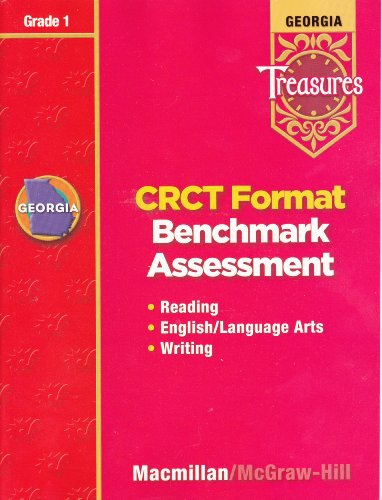 9780022021726: Georgia Treasures: CRCT Format Benchmark Assessment (Reading, English/Language Arts, Writing), Grade 1 [2008]