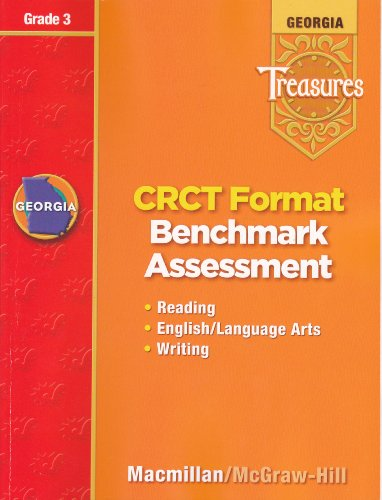 9780022021740: Georgia Treasures: CRCT Format Benchmark Assessment (Reading, English/Language Arts, Writing), Grade 3 [2008]