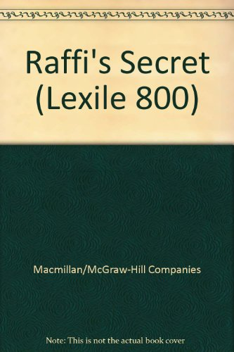 9780022028404: Raffi's Secret (Lexile 800)