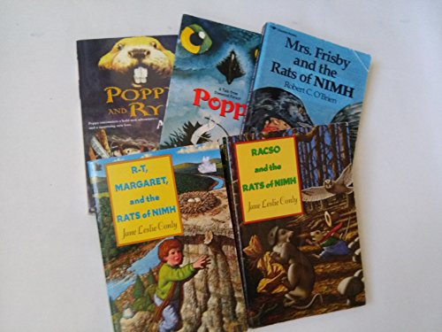 9780022029272: Book Sets for Kids: Poppy, Poppy and Rye, Poppy; Rasco and the Rats of Nimh; R T, Margaret and the Rats of Nimh; Mrs Frisby and the Rats of Nihm (Book Sets for Kids: Grade 3 - 5)