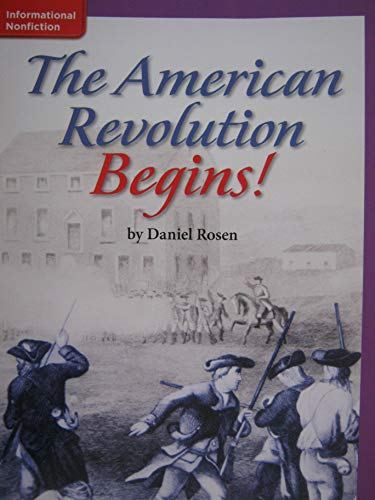 9780022030230: The American Revolution Begins!