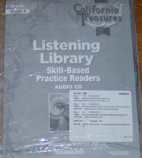 9780022033972: Listening Library Grade 4 On-Level: Skill-based Practice Readers (California Treasures. Audio Cd's)