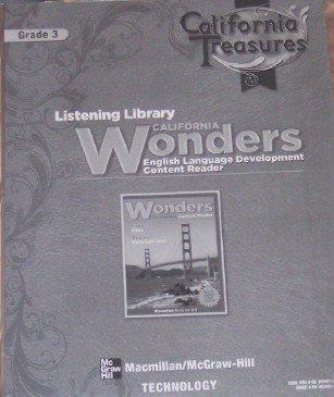 9780022034313: Listening Library California Wonders Grade 3 (California Treasures, English Language Development Content Reader)