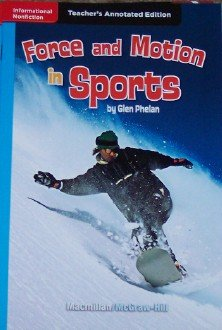 9780022034986: Force and Motion in Sports (Teacher's Annotated Edition)