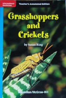 9780022035006: Grasshoppers and Crickets (California Treasures, Grade 4, Teacher's Annotated Edition)
