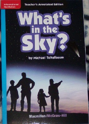 9780022035204: What's in the Sky? (Lexile 650) (Teacher's Annotated Edition)