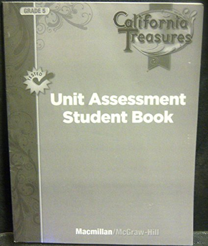 9780022041908: Unit Assessment Student Book Grade 5 (California Treasures)