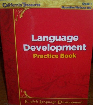 9780022042004: Language Development Practice Book Grade 1 (California Treasures)